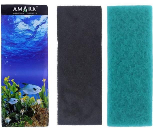 FOODIE PUPPIES Sobo Aquarium Cotton High Quality Pack of 3 Pcs | Biological Filter Media Sponge Aquarium Filter
