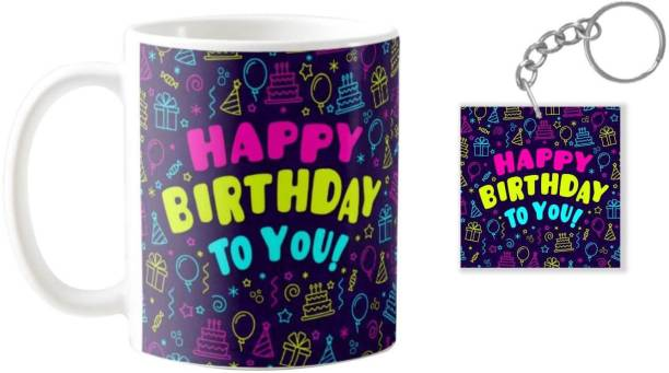 Giftsmate Birthday Gifts Happy Mug For Husband Wife Boyfriend Girlfriend Gift