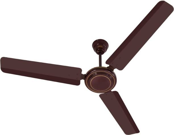 Fan buy fans online at low prices in india usha sonata brown 1200 3 blade ceiling fan mozeypictures Gallery