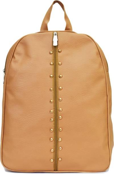 SPLICE PU Leather Backpack School Bag Student Backpack Women Travel bag 6 L  Backpack 05bb74cde678f