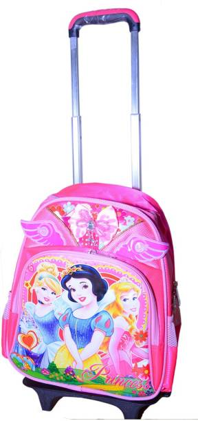 4b216e09eff4 GOCART 3D Design Children s Trolley Bag in pink Barbie Waterproof  Multipurpose Bag