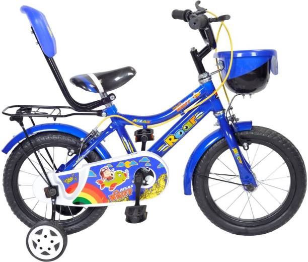 separation shoes 7e206 65691 Atlas Whiff 14inches Single Speed Bicycle For Kids Of Age 2-5Yrs BlueWhite  14 T