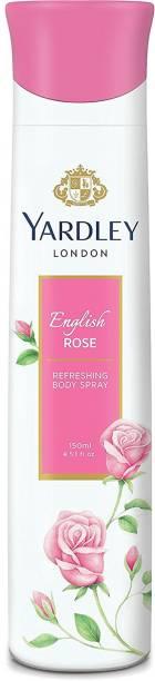 Yardley London Women English Rose 150ML Deodorant Spray  -  For Women