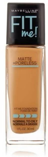MAYBELLINE NEW YORK Fit Me! Matte With Poreless Foundation, 330 Toffee Foundation