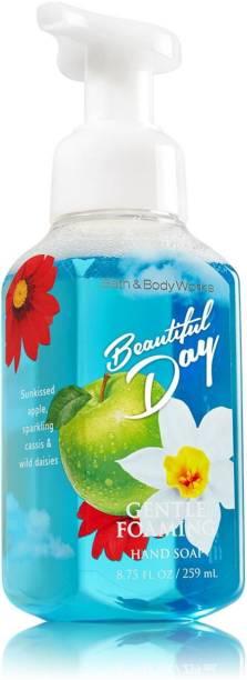 3 Bath & Body Works Kitchen Lemon 2018 Gentle Foaming Hand Soap 8.75 Fl.oz New Health & Beauty Bath & Body