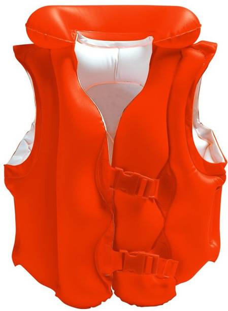 INTEX ® Original Inflatable Deluxe Swim Vest For Enfants And Kids Inflatable Swimming Vests