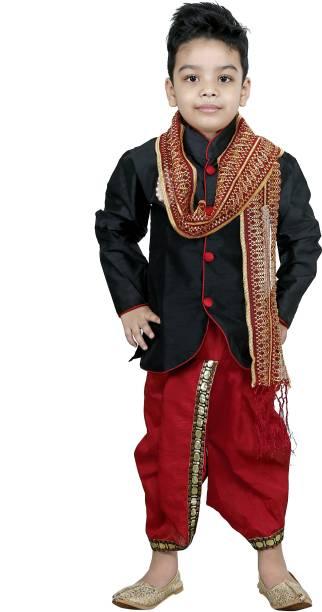 722854a156d Kurta Dhoti Pant Dupatta Set Boys Wear - Buy Kurta Dhoti Pant ...