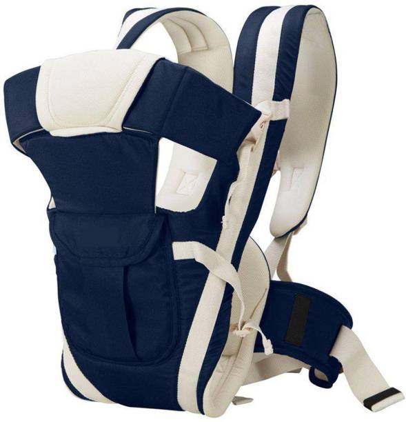 FOBHIYA Adjustable Hands-Free 4-in-1 Baby Carrier Bag in Red Color Baby Carrier