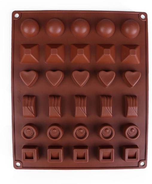 Lavelle Kitchen Baking Essentials Multi-Design 30 - Cup Chocolate Mould