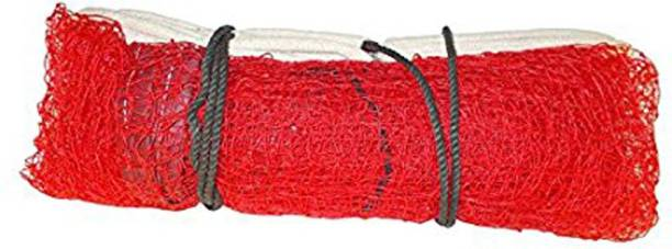 BUY INDIAN MADE GENUINE NYLON RED COLOR Badminton Net