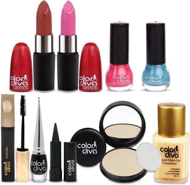 Color Diva Women Makeup Combo