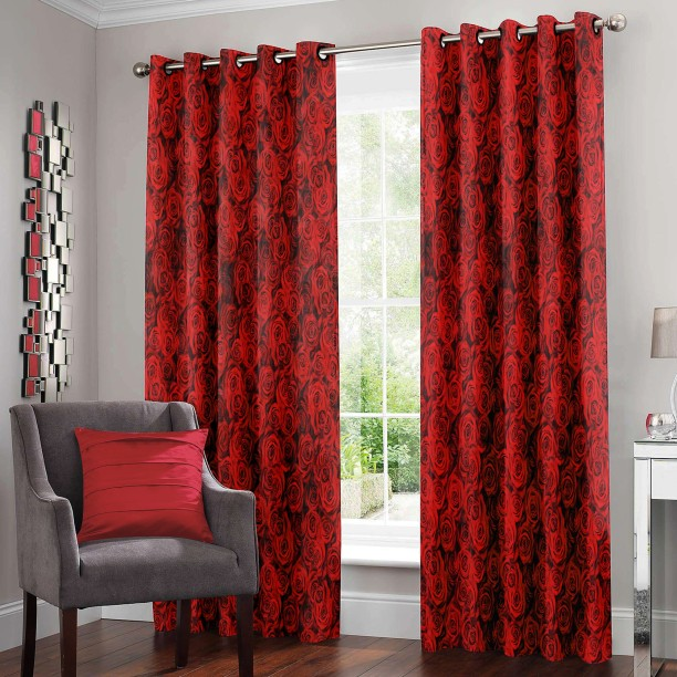 Story@Home Polyester Door Curtain 215 cm (7 ft) Pack of 2 & Window and Door Curtains online at Best Prices on Flipkart