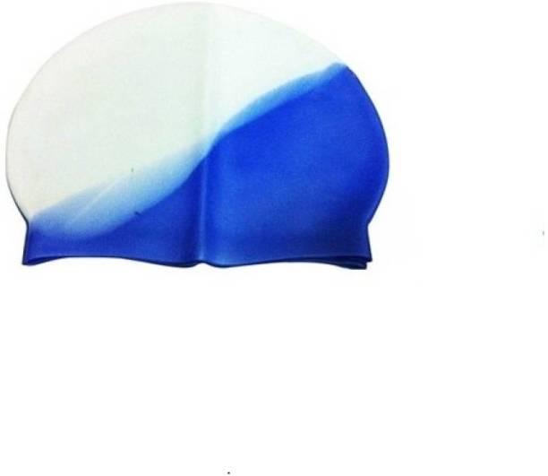 KAMNI SPORTS Swimming Cap (Multicolor, Pack of 1) Swimming Cap