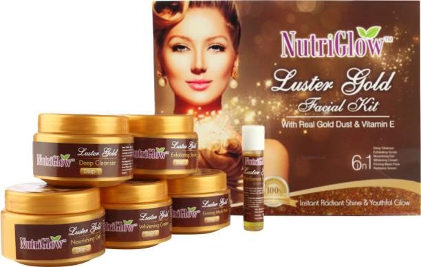 NutriGlow Luter Gold Facial Kit 250 g