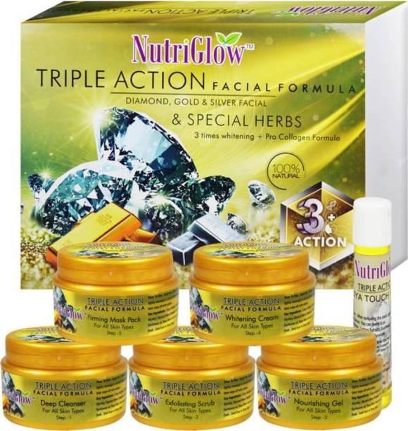 NutriGlow Triple Action Facial Kit 250 g