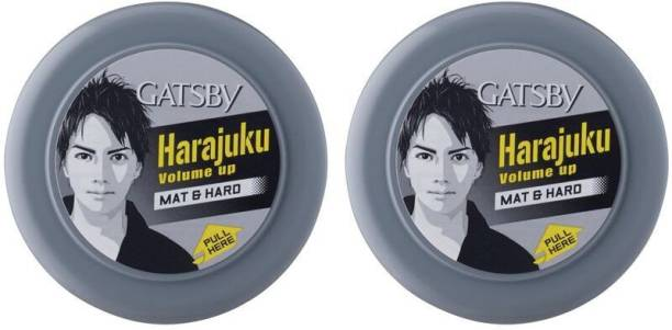 Gatsby Styling Wax Mat & Hard, Pack of 2, Hair Wax