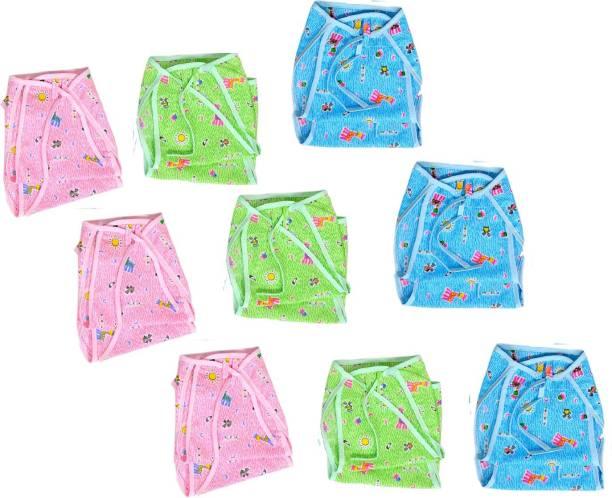 cf87c24dd39 PEUBUD Reusable washable Cotton Cloth Printed Diaper   Langot   Nappy for  new born baby (