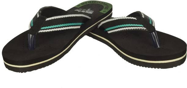 8abe1c299619 HealthFit Women s Rubber Diabetic   Orthopedic Footwear (Blue) Flip Flops
