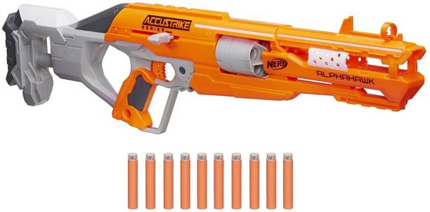 Nerf N Strike Elite Accustrike Series Alpha Hawk Guns & Darts