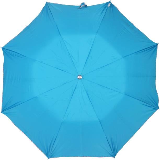 Fendo 2 Fold Auto Open Sky Blue Color Umbrella