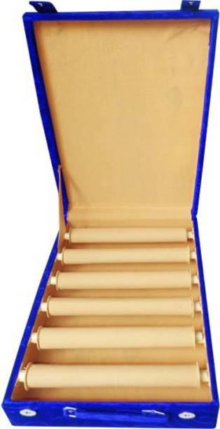 Aadhya Multipurpose 6 Rod Bangle storage Vanity Box