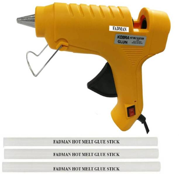 FADMAN YELLOW Kobra 40W On Off Switch And Indicator With 3 Sticks Standard Temperature Corded Glue