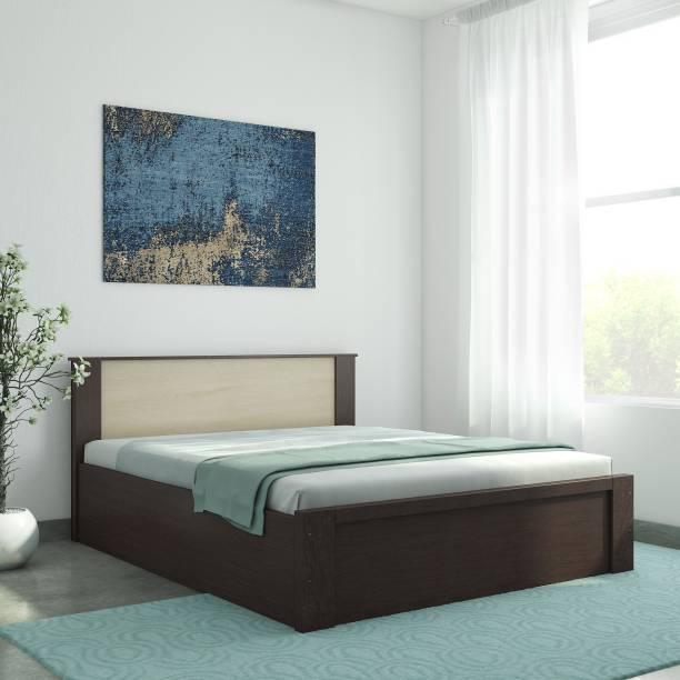 Valtos Engineered Wood Queen Box Bed