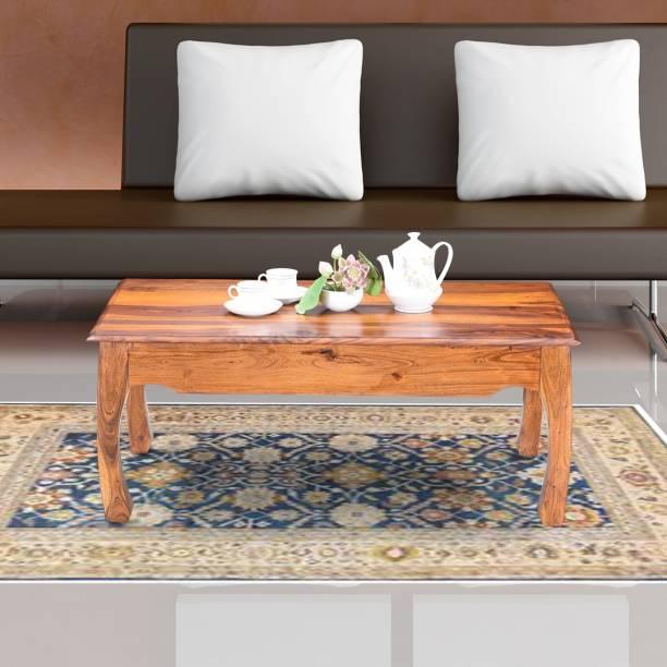 RoyalOak Sheesham Wood Solid Wood Coffee Table