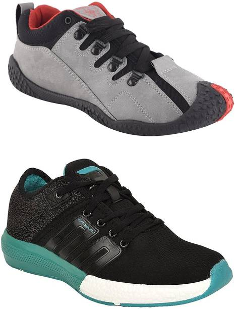 355ee744549 Chevit Men's Combo pack of 2 Casual & Sports Shoes (Running Shoes) Running  Shoes