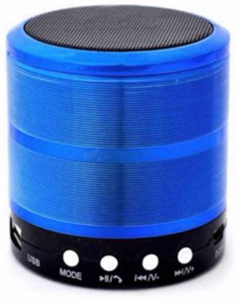 Apro POWERFUL BASS METAL BODY TF,USB & AUX Rechargeable Lighting Mini Mobile Wirelss Bluetooth