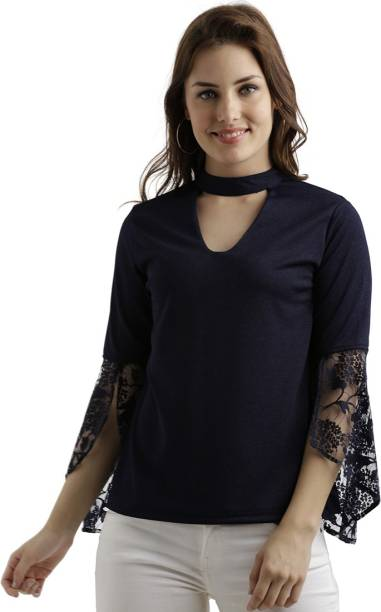 51ae216ff Miss Chase Tops - Buy Miss Chase Tops Online at Best Prices In India ...