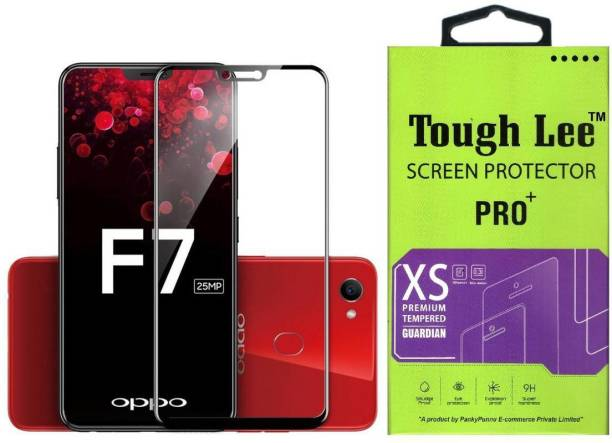 Tough Lee Tempered Glass Guard for OPPO F7