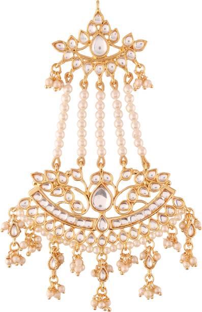 I Jewels T2464W Hair Chain