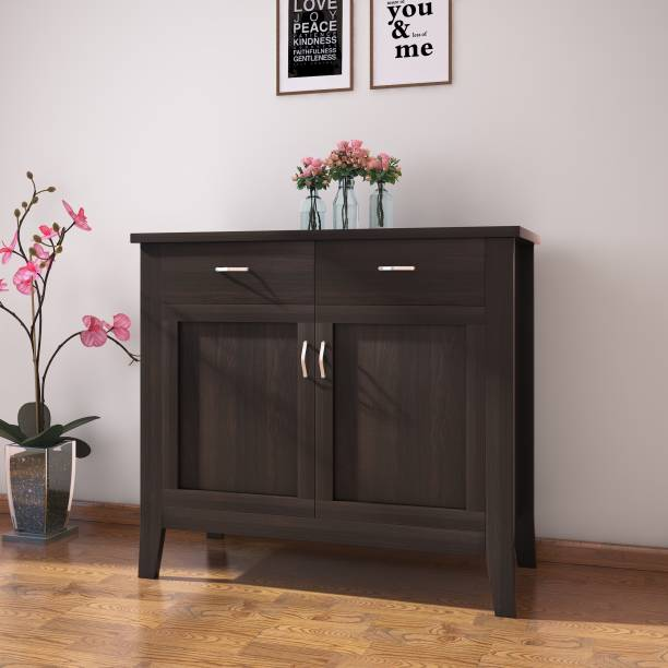 @Home by nilkamal Ben Engineered Wood Crockery Cabinet