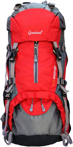 6a36172f525c GRANDIOSE 45+5L Red Hiking Backpacks and Rucksack bags (GTB65002RD) Rucksack  - 50