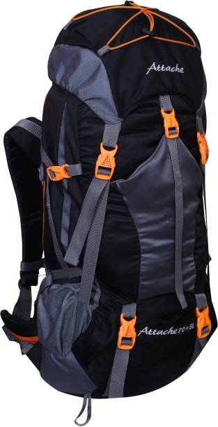 Attache 1025R Hiking Backpack (Black) With Rain Cover … Rucksack - 70 L d50c551f96876