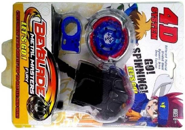 Funsters Beyblade 4D Top Metal Master Fury Speed Beyblade For Kids ( Multicolour )…