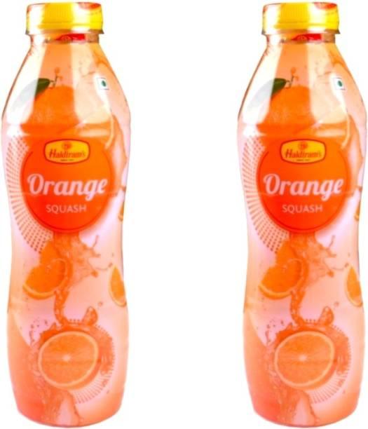 Haldiram's Orange Squash (Pack of 2)