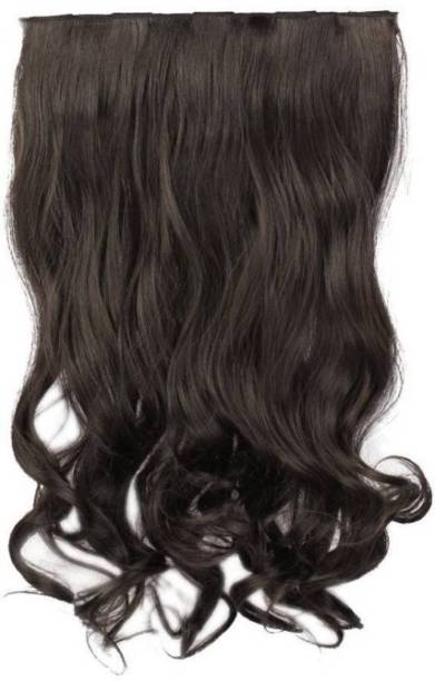 PEMA 2 minute Natural Black clip in Curly Hair Extension