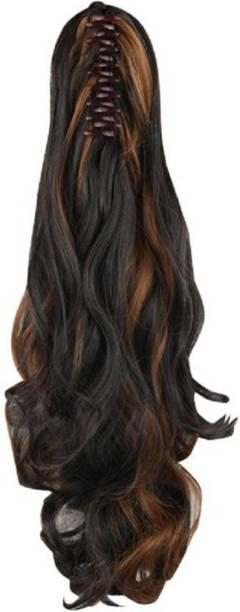 PEMA 30 second Step cutting Golden Highlight Hair Extension