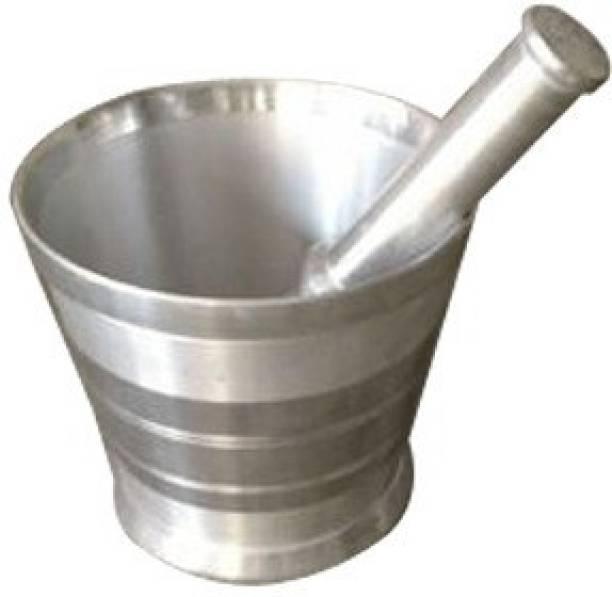 Mast Shital Mortar and Pestle Aluminium Masher