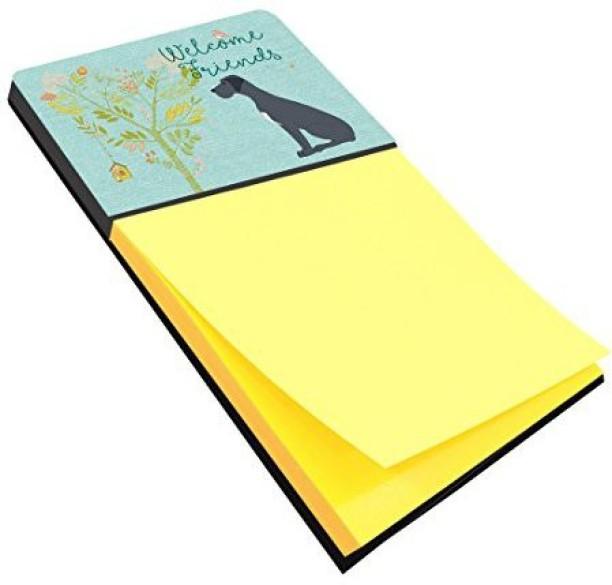 Carolines Treasures Desk Artwork Notepad Holder Multicolor BB7386SN