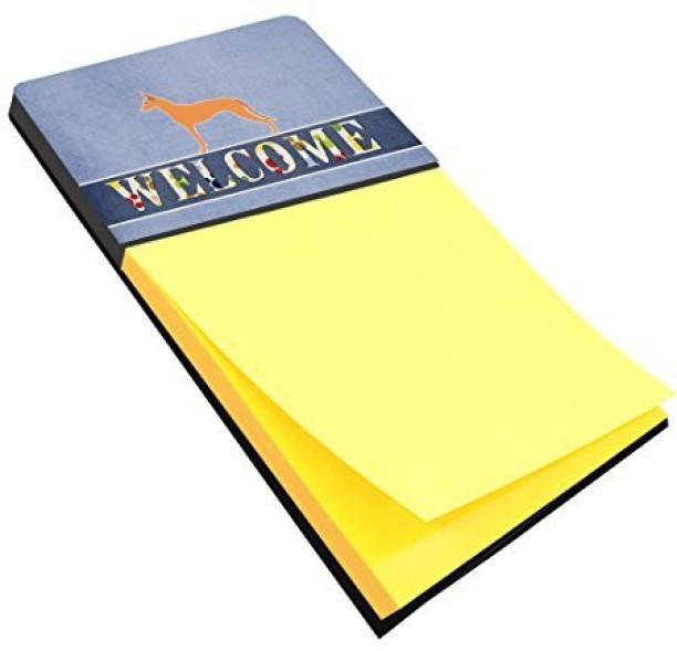 Multicolor BB7615SN Carolines Treasures Desk Artwork Notepad Holder