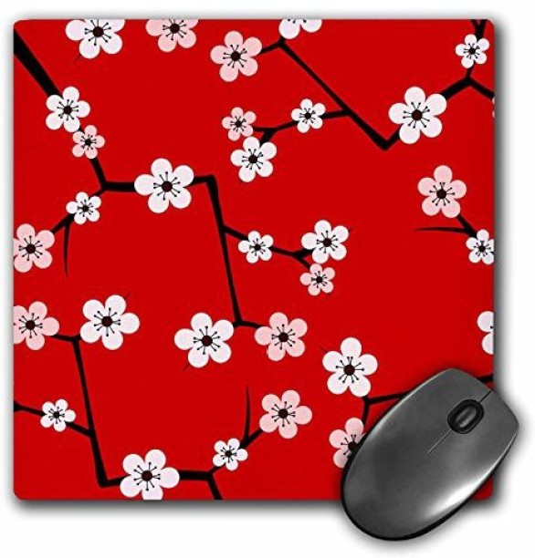 8 by 8-Inch 3dRose db/_121400/_1 Pretty Pink Flowery I Love Ants Drawing Book