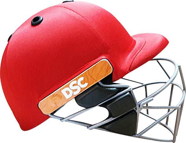DSC Grade C/Helmet Scud Red -XL Cricket Helmet