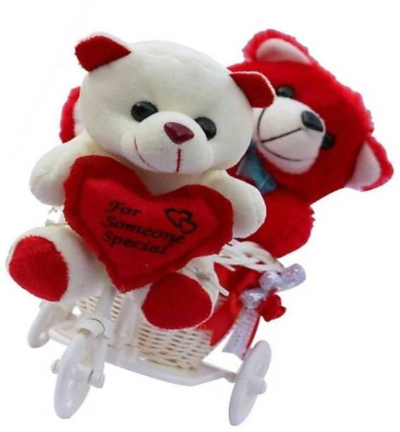 me you romantic cycle teddy return gifts for wife girlfriend sister on birthday anniversary rakhi