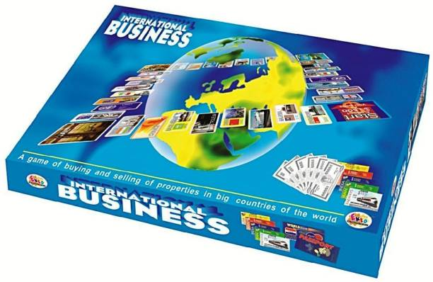 Gauravshopo International Business Board Game Family Game Money & Assets Games Board Game