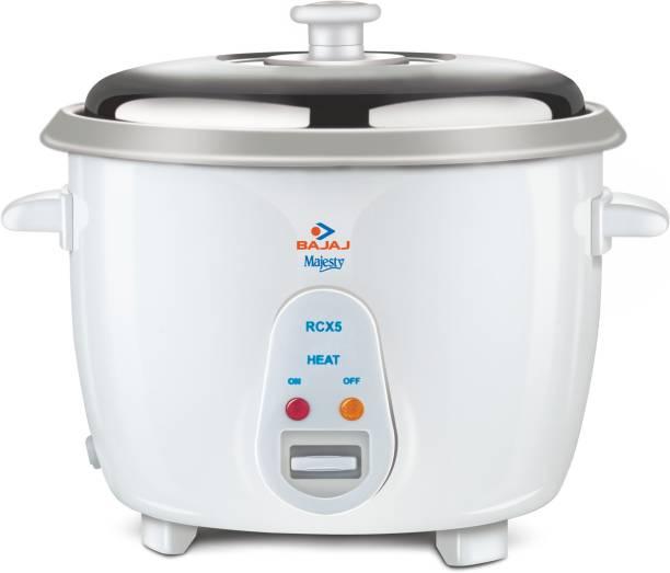 BAJAJ Majesty New RCX 5 Electric Rice Cooker