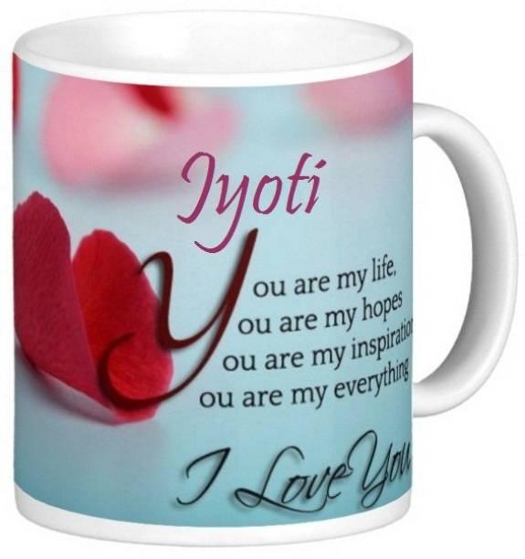 Exocticaa Jyoti Love S006 Ceramic Coffee Mug