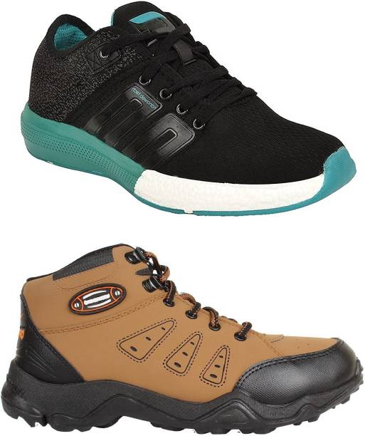 30e56dcb59f Chevit Men's Combo Pack of 2 Sports Shoes (Running, Jogging & Gym Shoes)